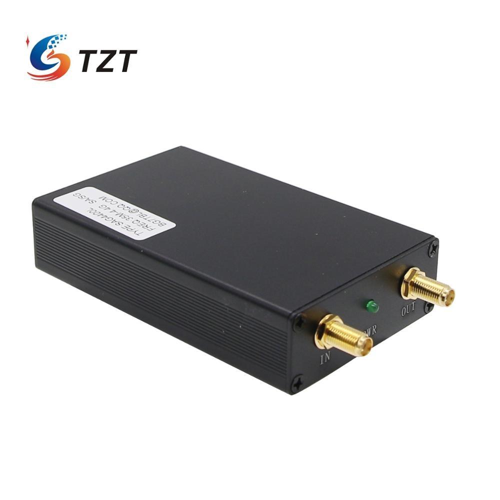 TZT 35M-4.4G 1K USB SMA Signal Source Generator Simple Spectrum Analyzer SAG4400L
