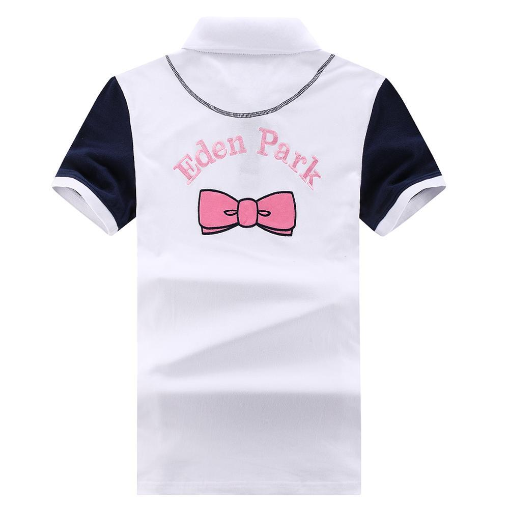Французский стиль Eden Homme поло летние классические из эластичной ткани на хлопковой основе Удобная Парка мужская рубашка Поло размер M-3XL выш...
