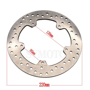 Image 2 - For BMW S1000R 2013 2017 S1000RR 2009 2017 Motorcycle Rear Brake Disc Rotor