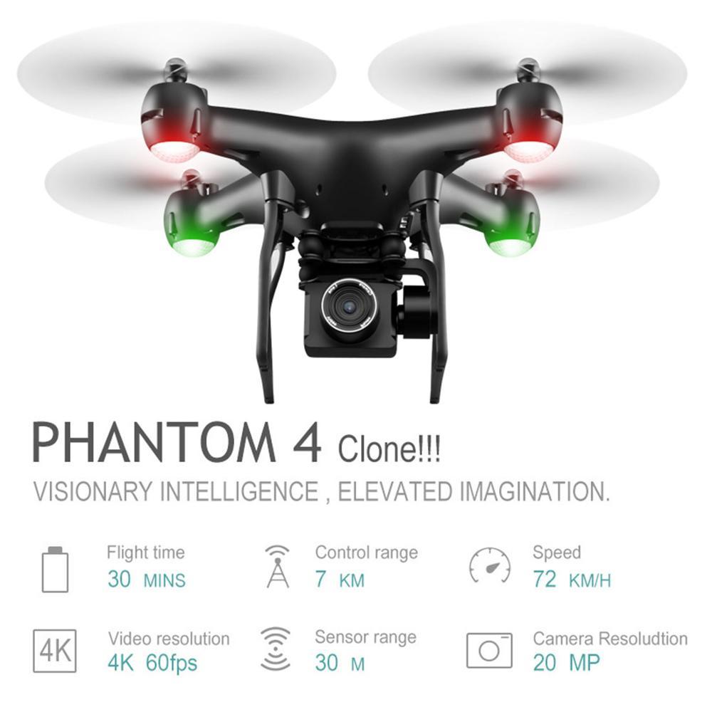 Drone Jmt S32T 4K 1080P WiFi FPV Anti-secousse cardan caméra Drones professionnel geste photo RC quadrirotor VS M69G SG106 Drone