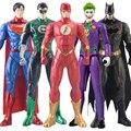 30 см DC Лига Справедливости Супермен Джокер вспышка Бэтмен Зеленый Фонарь Бэтмен Харли Куин кукла Фигурка игрушка для детей