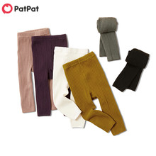 Toddler Girl Baby Kids Casual Patpat Autumn And Spring Tights Solid Bottoms New-Arrival