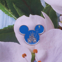 Cute Mickey Metal Brooch Pins Anime Badges Cartoon Brooches Lapel Pin Jewelry Gift for Women Men Wholesale