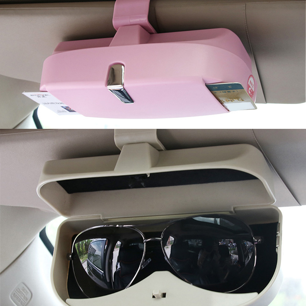 Universal Car Visor Sunglasses Case