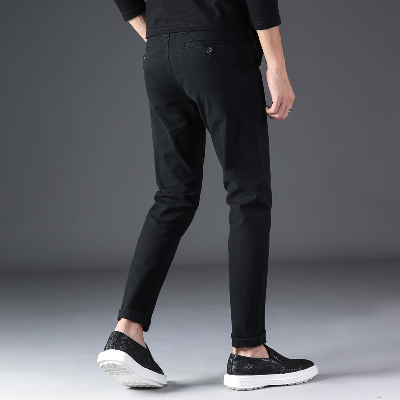 KSTUN 2020 Spring Summer New Casual Pants Men Cotton Slim Fit Chinos Fashion Trousers Male Brand Clothing Basic Mens Pants 20