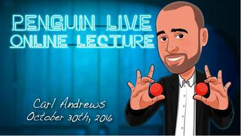 Carl Andrews Penguin Live ACT MAGIC TRICKS carl dixon strange way to live
