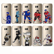 Soft Silicon Phone Cases Cover Sport Ice Hockey Sidney Crosby Cartoon Capinha Coque for Samsung Note9 8 C9 C8 S10 plus S10e