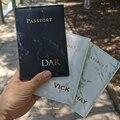 По индивидуальному заказу название Обложка для паспорта, кошелек для путешествий, г-н/г-жа обложки для паспорта путешествия Органайзер доку...