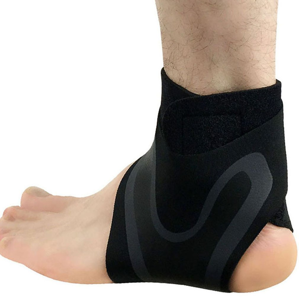Sports Ankle Pressure Protective Gear Socks Wrist Men's Summer Thin Section Anti-squat Foot Basketball Running Set