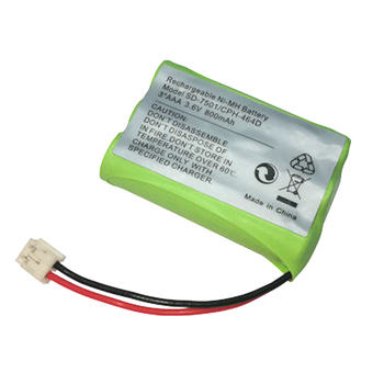 Ni-MH 800mAh 3.6V Replacement Cordless Home Phone Battery for Motorola SD-7501 V-Tech 89-1323-00-00 AT & T Lucent 27910 image