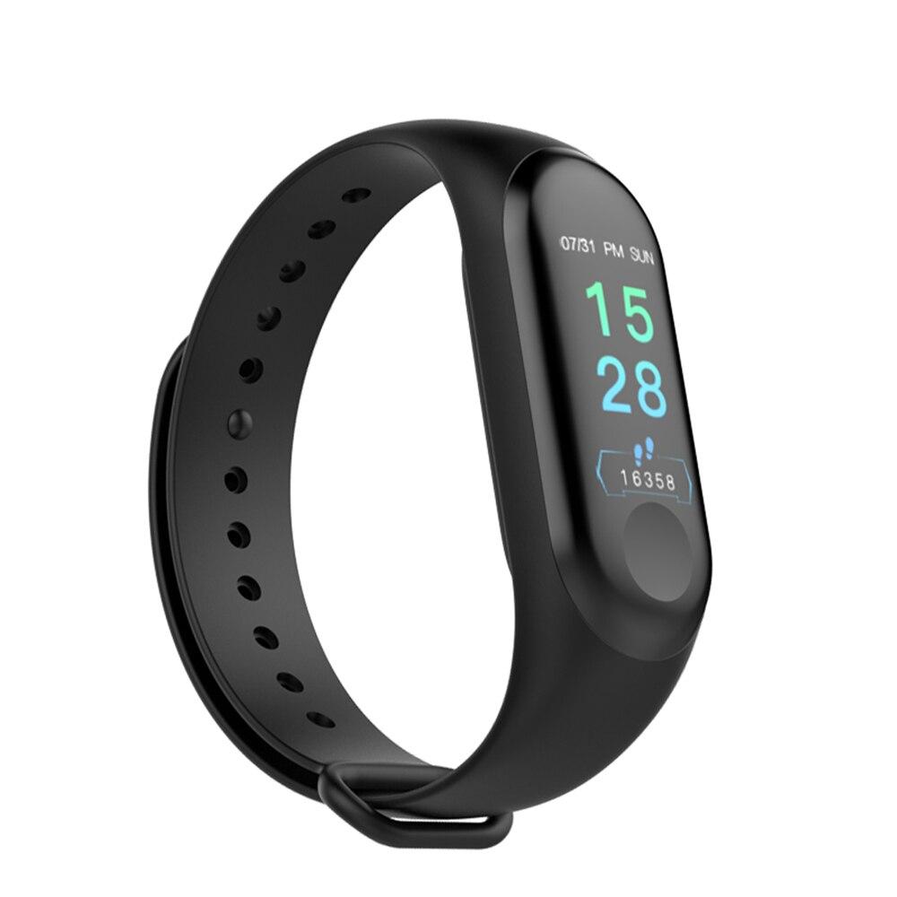 M3 Plus banda inteligente Bluetooth Fitness Tracker pulsera inteligente sueño saludable presión arterial Monitor de ritmo cardíaco