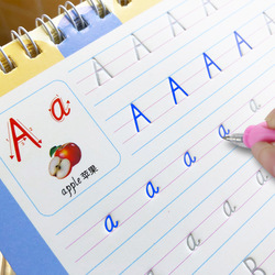 English Copybook For Calligraphy Books For Kids Word Children's Book Handwriting Children writing Learning English Practice Book