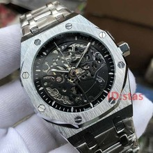 Rose Gold mechanical Automatic Skeleton aaa Royal Mens Designer Watches
