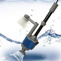 20/28W Elektrische Fisch Tank Wasser Ändern Pumpe Aquarium Reinigung Werkzeuge Wasser Reiniger Siphon Wasser Filter Pumpe Aquarium zubehör