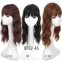 Женская заколка для волос aoosoo черная или коричневая удлиненная