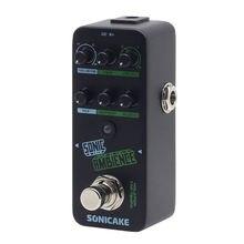 Sonicake sonic ambience multi modo toque tempo atraso e reverb guitarra pedal de efeitos graves QSS-16