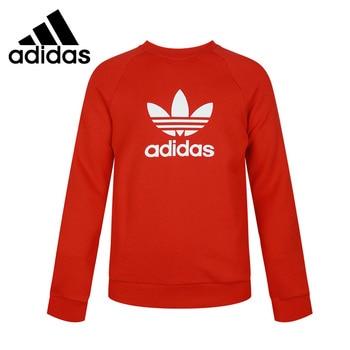 Original New Arrival Adidas Originals TREFOIL CREW Men's Pullover Jerseys Sportswear