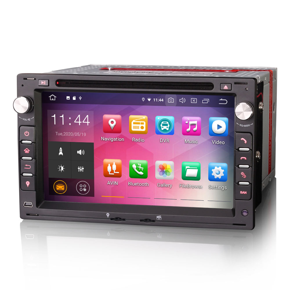 """7"""" Android 10.0 OS Car DVD Multimedia Navigation GPS Radio System Player for Ford Galaxy 1995-2005 with 3G/4G Dongle Support(China)"""