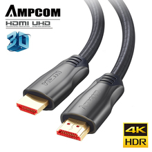 HDMI Cable  2.0a 2.0b, AMPCOM Engineering Series 4K to 2.0 Support 3D Ethernet HDR 4:4:4 for HDTV PS4 PS3