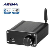 AIYIMA APTX QCC3008 Bluetooth Amplificador Power Amplifier Audio 100Wx2 TDA7498 Stereo Digital Home Theater Speaker Amplifier s 9000 home high power professional 5 1 bluetooth amplifier hifi theater amplifier