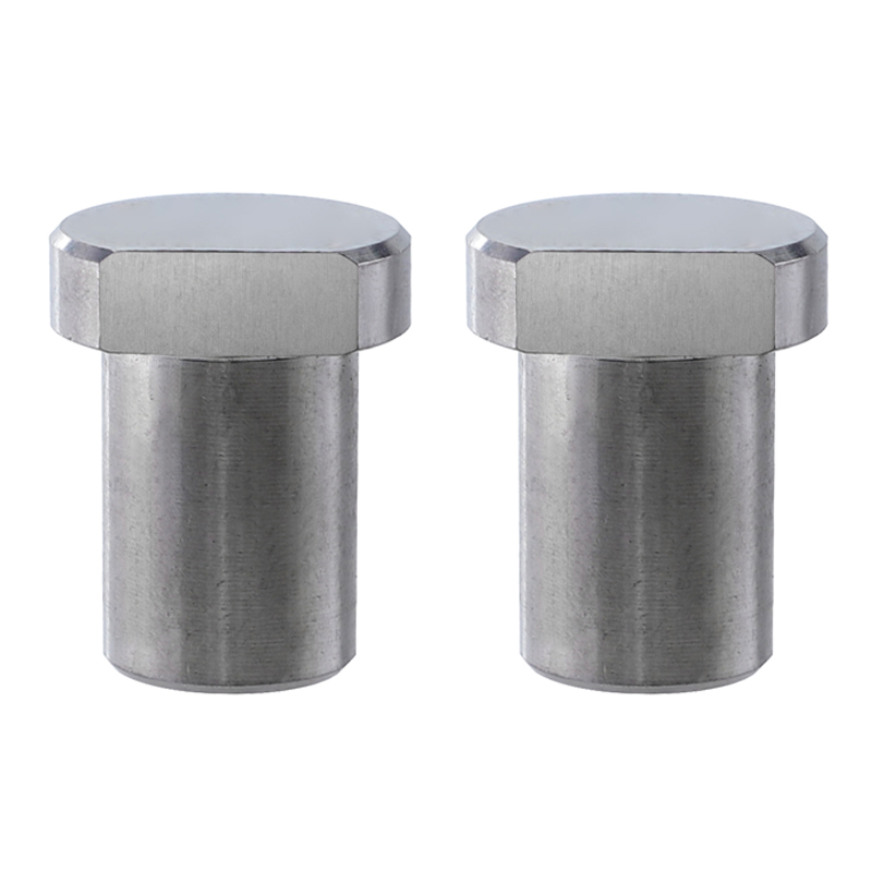 2PCS Workbench Stoppers, Stainless Steel Limit Tenon Blocks, Fixed Woodworking Table Accessories