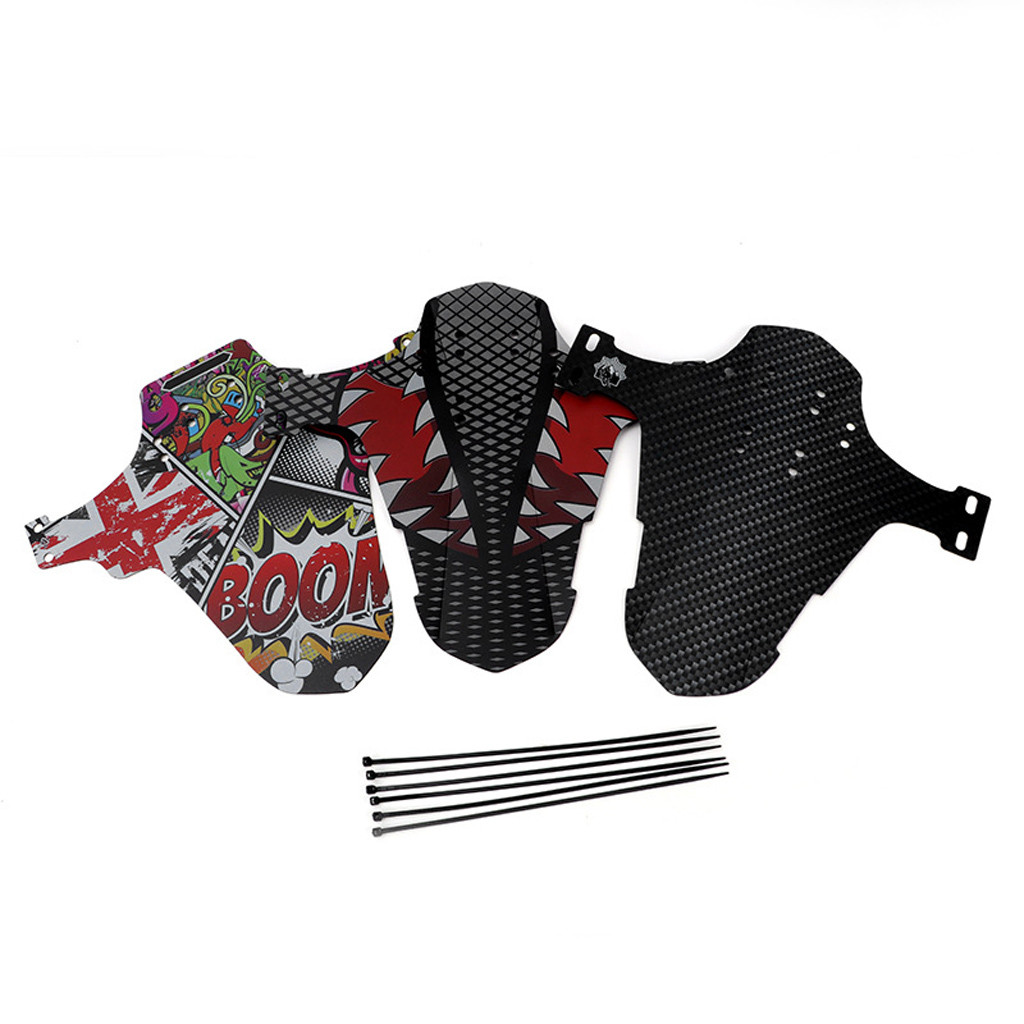Ultra-Thin MTB Road Bike Mud Flaps Cycling Bicycle Wings Front Bicycle Mudguard For Mountain Bike Fenders Bicycle Fender