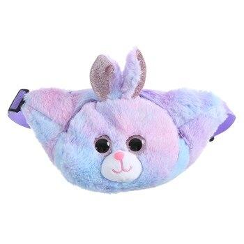 luxury brand Bag Fashion Novelty Cute Parent-Child Kids Zipper Messenger Plush Cartoon Chest Waist Bag сумка женская модная