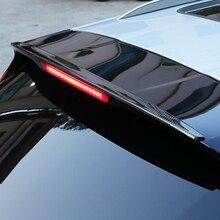 Für Macan Carbon Fiber Car Styling Hinten Dach Lip Spoiler Flügel 2014 2016