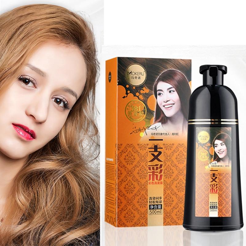 Best Price #63409 - Mokeru 1PC 500ml Natural Fast Hair Color ...