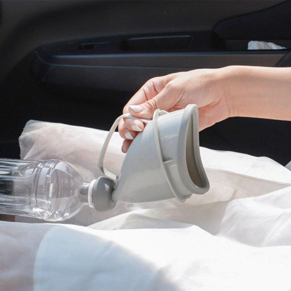 Портативный автомобиль путешествия открытый взрослых писсуары для мужчин и женщин горшок Воронка Embudo Orina мочиться кемпинг туалет аварийный дорожный