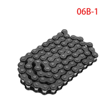 Roller-Chain Pitch 06B-1 1pcs Carbon-Steel Industrial-Transmission-Chain/chain-Connector