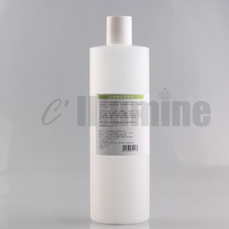 Bioglycogel orgânico polissacarídeo essência água toner pulverizador
