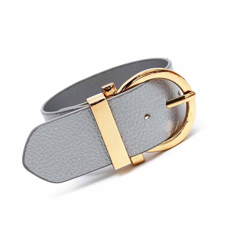6 Pcs/Lot Wholesale Leather Bracelet Of Women Accessories Popular Contracted Joker Ms ladys Leather Bracelets