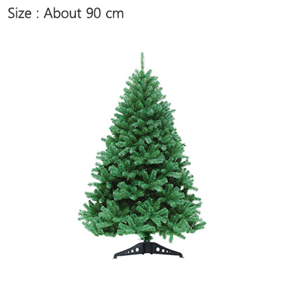Strongwell 45/60/90/120 см Шифрование зеленое дерево мини искусственная Рождественская елка украшения светодиодное Рождественское украшение Декор - Цвет: 90cm