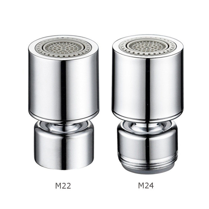 M22/M24 Male/Female Thread 360 Rotate Swivel Faucet Aerator Replacement Bubbler Sprayer Water Saving Filter Kitchen Bathroom