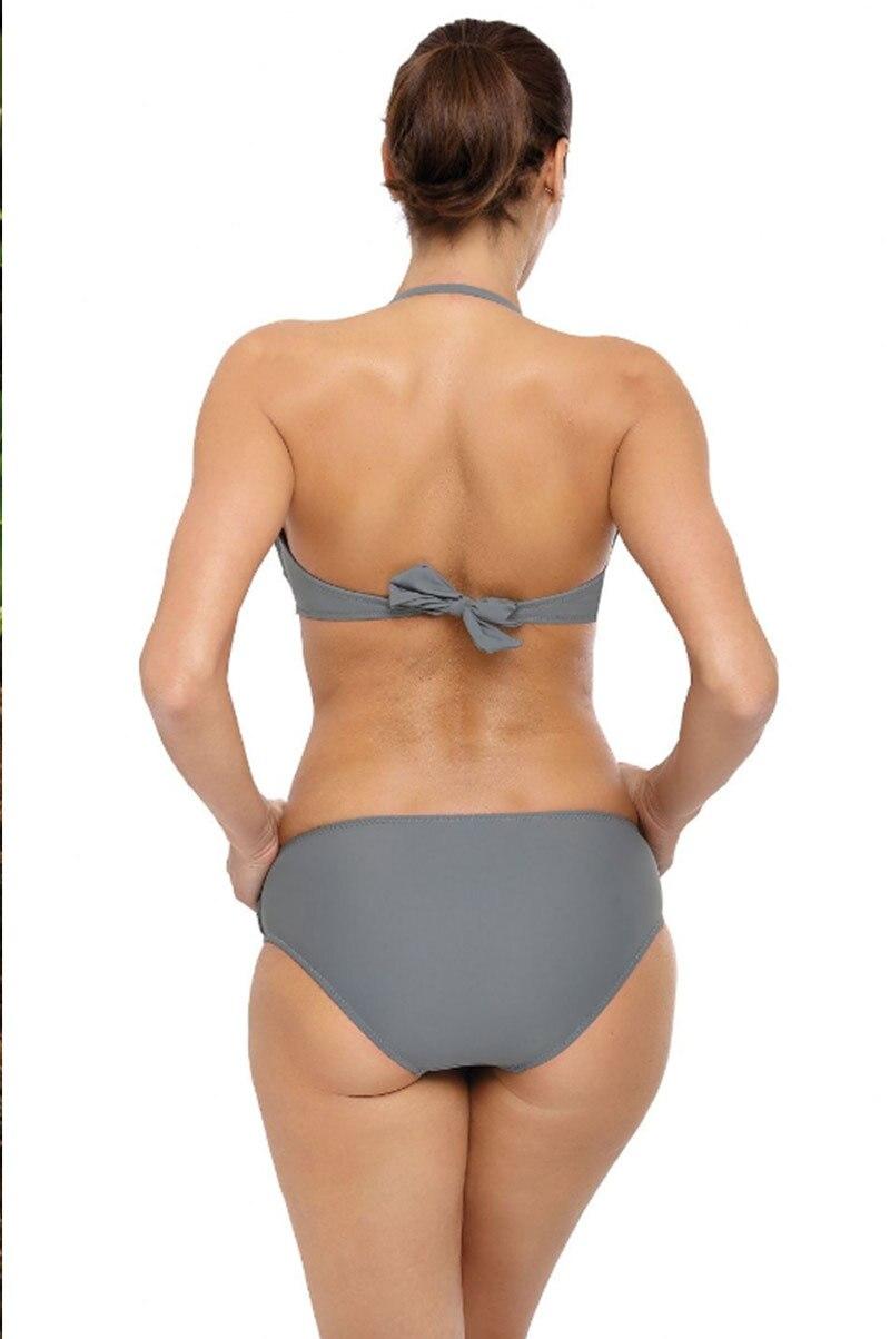 H1ff065133d9e47d781429ecb50cfac26i Miyouj Sexy Leopard Bikini Push Up Deep V Swimsuit Female Hollow Out Bathing Suit Women Snake Skin Print Biquini Halter Bikinis