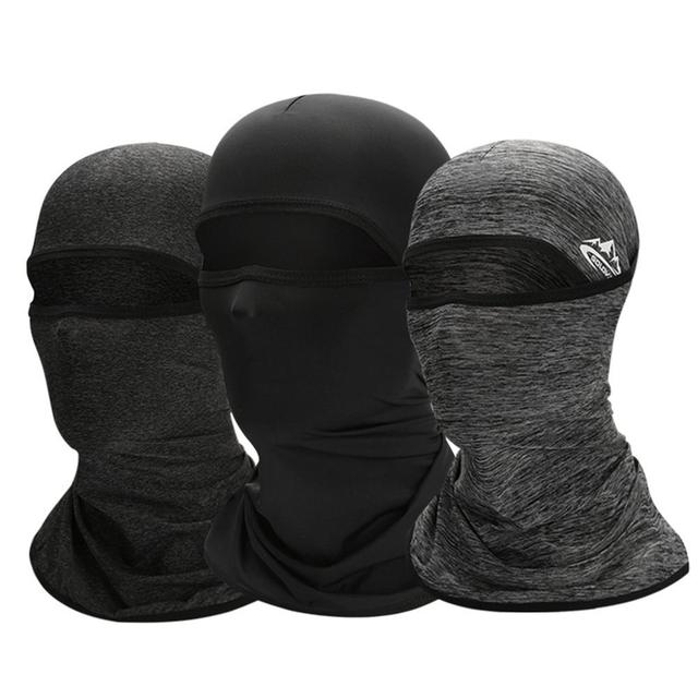 Unisex Outdoor Motorcycle Riding Face Mask Cover Cool Seamless Mask Multifunctional Sports Anti-fall Magic Headscarves Drop Ship