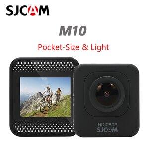 Image 1 - Sjcam m10 câmera esportiva de ação original, full hd 1080p, mergulho, 30m, à prova d água, submersa, câmera para capacete, câmera para gravar esportes câmera