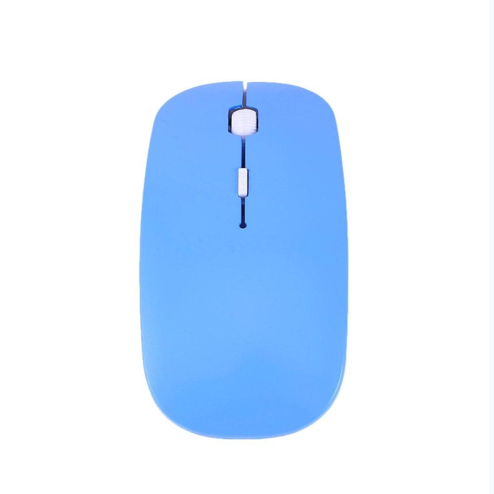 2.4GHz Wireless Optical Mouse 4 Keys Computer PC Mice USB 2.0 Ergonomically Design Ultra Slim Fashion Mouse