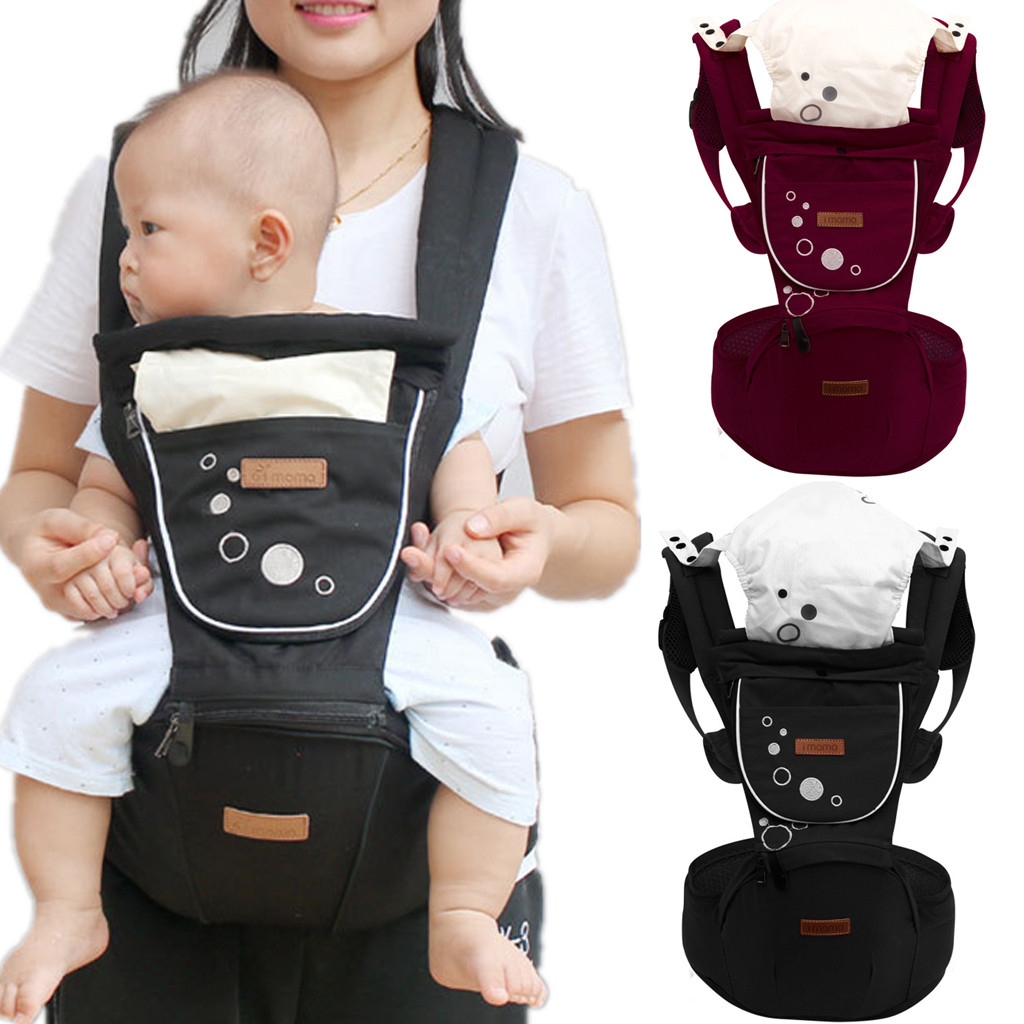 New Baby Carrier Sling Baby Carrier Hipseat Walkers Baby Sling Backpack Belt Waist Hold Infant Hip Seat 0 36 Months|Backpacks & Carriers|   - AliExpress