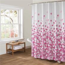 Романтические воздушные шары занавеска для душа Водонепроницаемая занавеска для ванной из полиэстера занавес для ванной моющийся Отель домашний декор для ванной занавеска s розовый