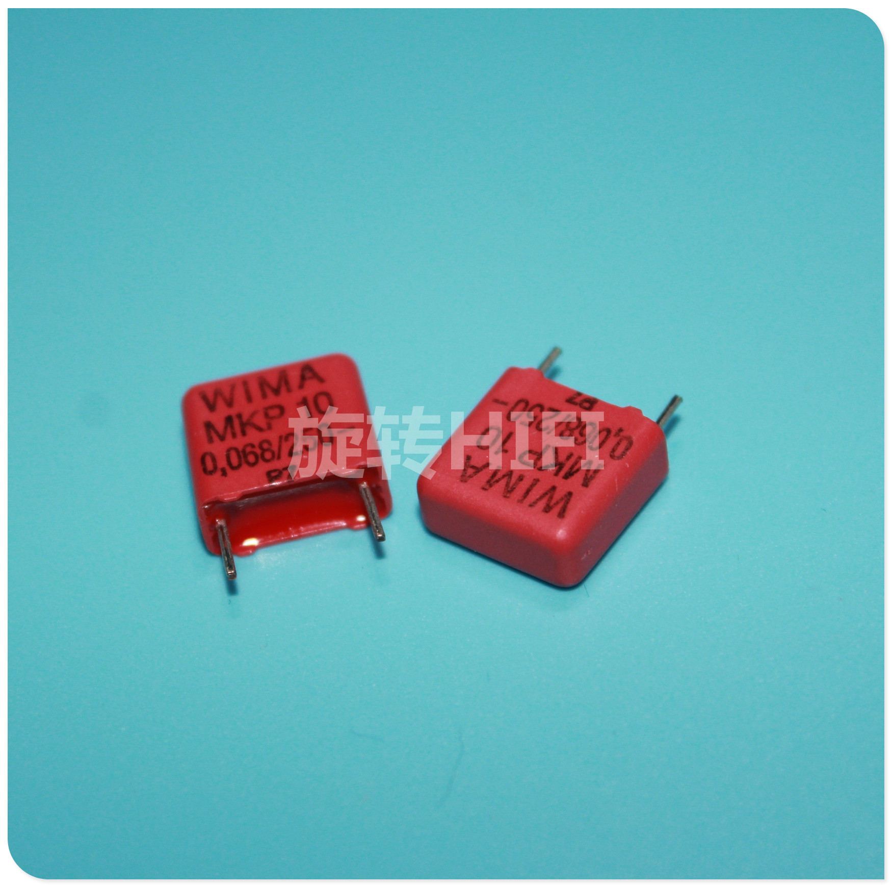 10PCS RED WIMA MKP10 0.068UF 250V P10mm Original New MKP-10 683/250V Audio 68nf Film 683 PCM10 Hot Sale 0.068uf/250v