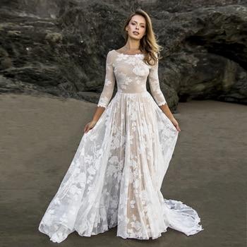 Robe de Mariée Bohème Romantique Victoire