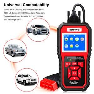 Image 3 - OBD2 Auto Scanner KONNWEI KW850 Scanner Universal Code Reader Multi sprache Diagnose Werkzeug OBD 2 Auto Scanner