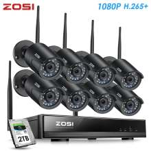 Беспроводная внешняя камера видеонаблюдения zosi h265 1080p