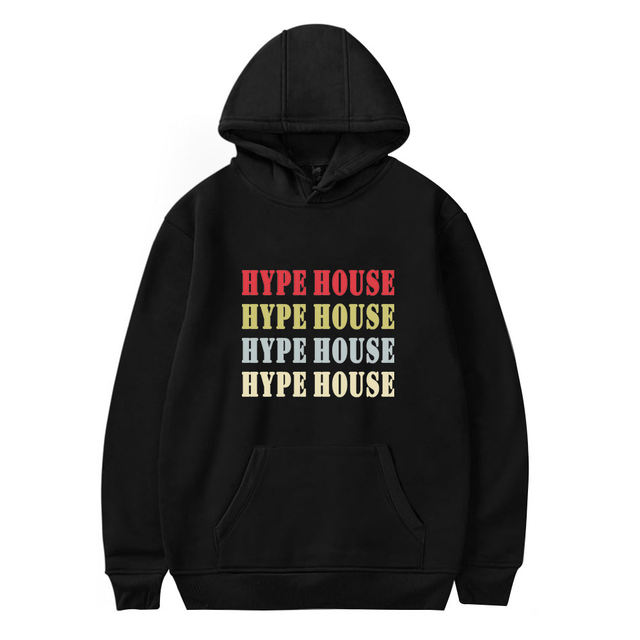 THE HYPE HOUSE THEMED HOODIE (28 VARIAN)