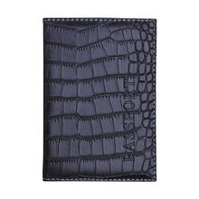 Men Leather Wallet Passport Holder Protector Business Soft Crocodile Pattern Card Holder Money Cash Purses Pockets 10 Colors #EX(China)