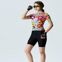Conjunto de camisa de ciclismo 2020 jérsei feminino roupas de bicicleta terno bib shorts terno verão wear bicicleta