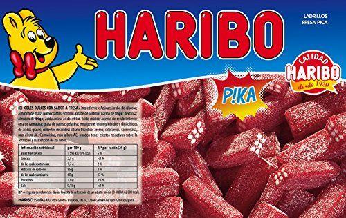 Haribo - Bricks Strawberry Säuren - Gele Süß - 1 Kg