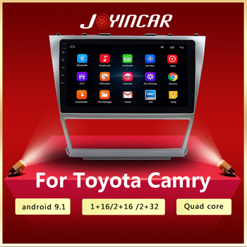 2G+32G Android Car Radio Multimedia Video Player Navigation GPS WiFi 2 din For Toyota Camry 40 50 2007 2008 2009 - 2011 no dvd image